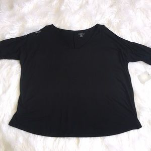 Cold Shoulder Maternity Top NWT